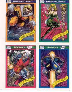 BORIS WITH JULIE 1996 COMIC IMAGES BOX TOPPER BONUS INSERT CARD