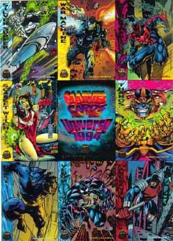 3 1996 Wizard Magazine Chromium Series Set #s 2 /& 4